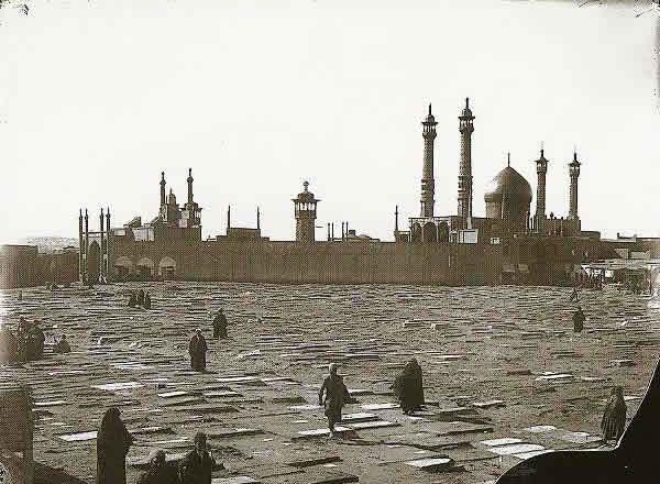 تصویری از شهر قم در دوران قاجار